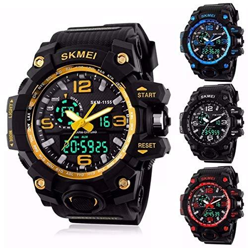 Relógios Masculinos Digital Esport Prova D' Água Skmei 1155 Amarelo