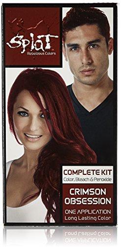 Splat Long Lasting Semi-Permanente Haarfarbe 86ml (Crimson Obsession)