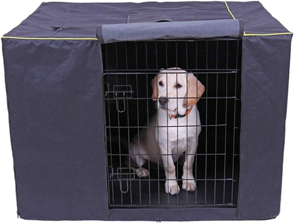 Zhyaj Cuccia per Cane da Esterno Taglia Grande Impermeabile A Prova di Polvere Durevole Oxford Custodia per Cani Pieghevole Lavabile Pet Kennel Coperchio della Cassa Regalo per Cani,A