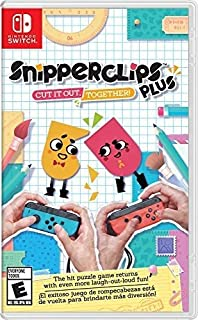 Snipperclips Plus: Cut It Out Together (輸入版:北米) - Switch