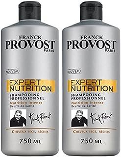 Franck Provost esperto di nutrizione Shampoo 750ml - Lotto di 2