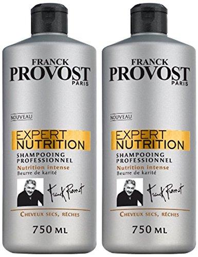Franck Provost Expert Nutrition Intense Shampoo – 750 ml – 2 Stück