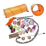 Toozey Katzen Spielzeug 26 Stück, Katzenspielzeug Set mit Verlängern...