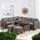 Better Homes & Gardens Brookbury 5-Piece Patio Wicker Sectional Set - Walmart.com