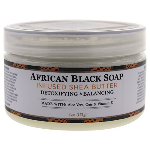 NUBIAN HERITAGE Shea Butter Infused with African Black Soap Extract