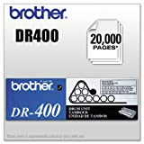 Brother DR400 Drum Cartridge - New (Retail Packaging),Black