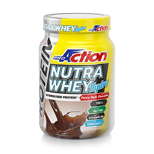 ProAction Protein Nutra Whey Hydro - barattolo da 725 g (fancy dark chocolate)