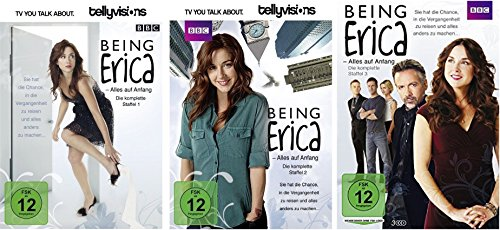 Being Erica Staffel 1-3 (1+2+3) [DVD Set]