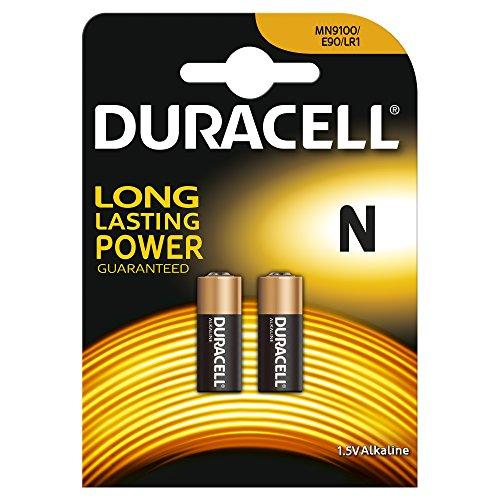 Duracell N Lr1 Mn9100 - Juego de 4 Pilas alcalinas Micron Fox