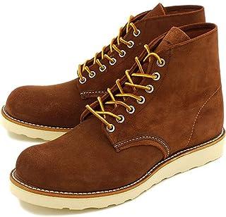 [レッドウィング] REDWING ブーツ #8813 CLASSIC WORK BOOTS クラシック ワークブーツ 6インチ ラウンドトゥ/プレーントゥ COPPER ABILEN ROUGHOUT