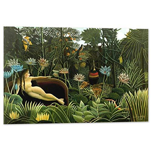 Kuader Der Traum Henri Rousseau -100 x 70 cm