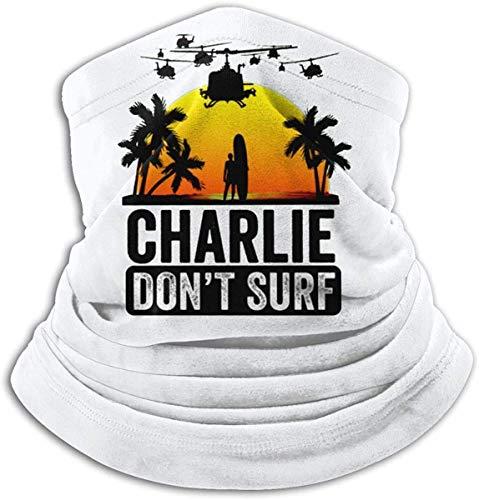fenrris65 Charlie Dont Surf Bandana pasamontañas mágica cara bufanda cuello polaina diadema
