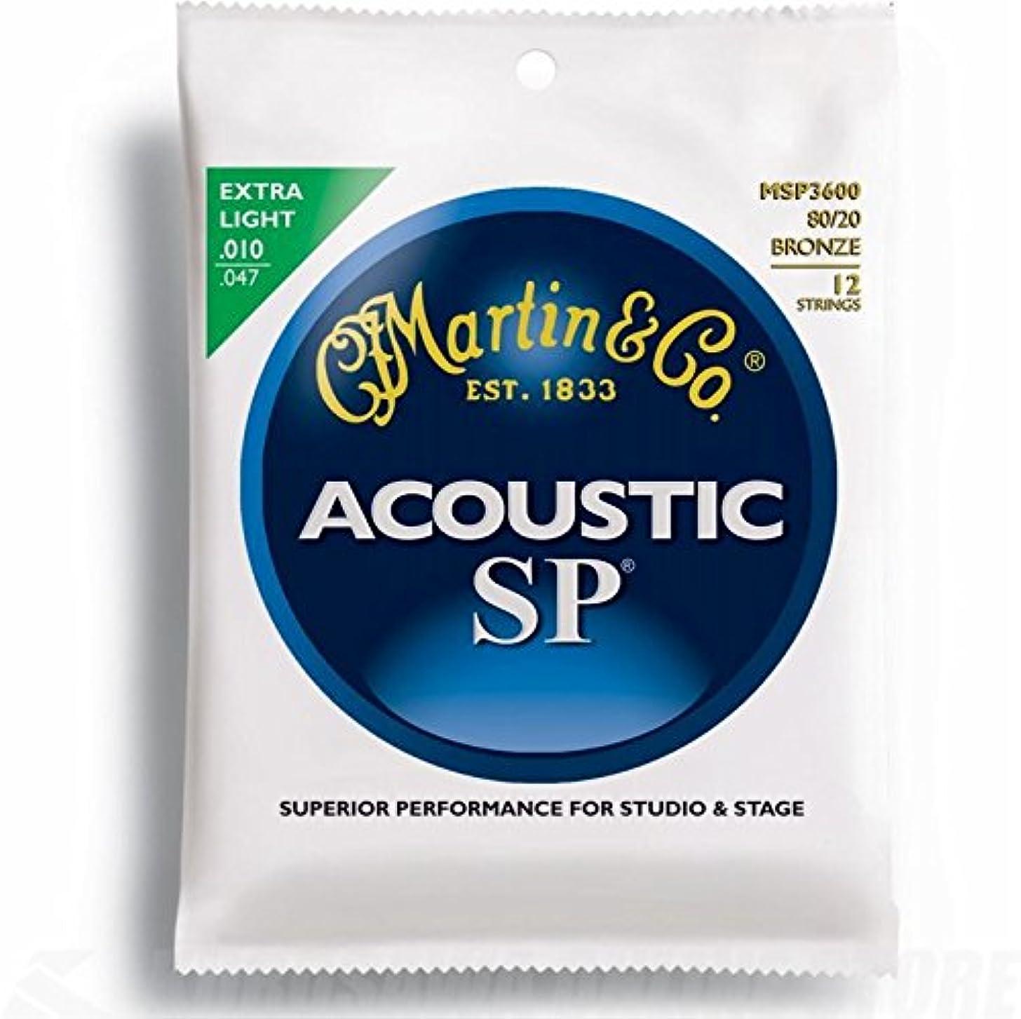 Martin Acoustic Guitar Strings (MSP3600)