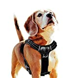 Perkisboby No Pull Dog Harness, Easy Control Dog Vest, Comfortable Padded Large Dog