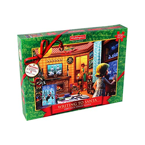 Waddingtons   Puzzle navideño, Multicolor (001861)