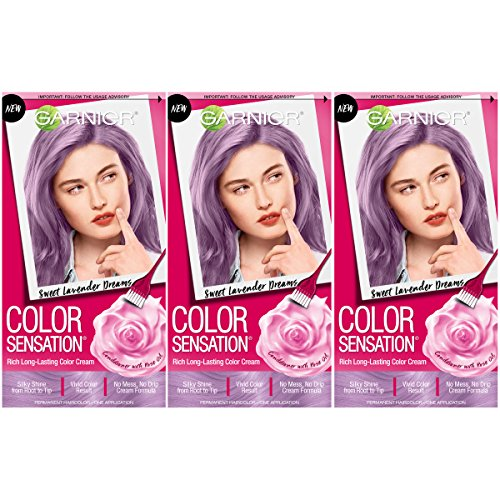 Garnier Hair Color Sensation Hair Cream, Sweet Lavender Dreams