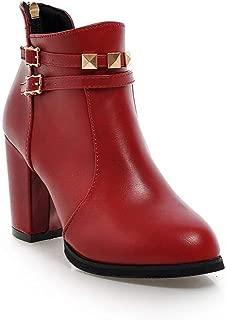 BalaMasa Womens ABS13951 Pu Boots