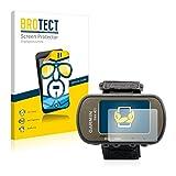 BROTECT Protector Pantalla Compatible con Garmin Foretrex 401 Protector Transparente (2 Unidades) Anti-Huellas