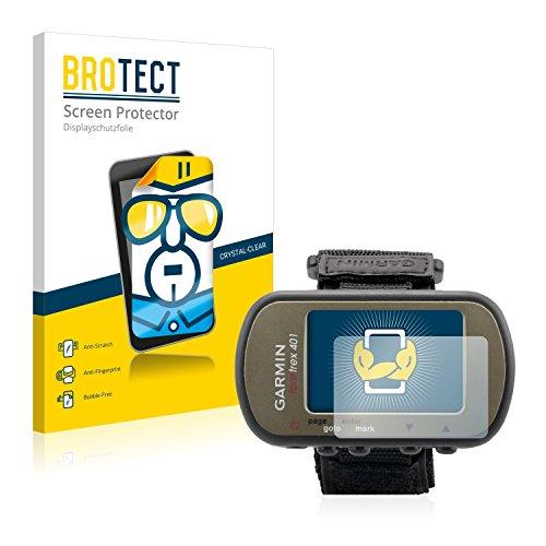 BROTECT Schutzfolie kompatibel mit Garmin Foretrex 401 (2 Stück) klare Displayschutz-Folie