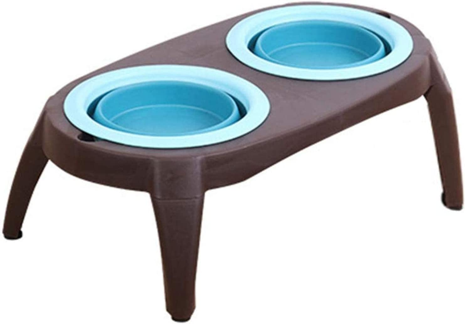 XHJTD Import Cheap mail order specialty store Elevated Dog Bowls Pet Collapsible Feeding Bowl
