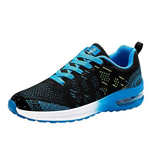 YOUQQI Unisex Mesh Sneaker Freizeitschuhe Casual Sportschuhe Laufschuhe Turnschuhe Fitness Straßenlaufschuhe Trainer Outdoor Sneakers Tennis Schuhe