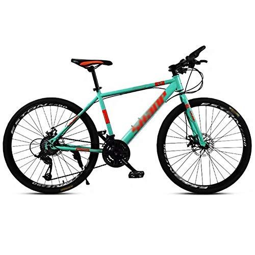 TOOLS Mountainbikes Rennrad Rennräder Mountainbike Rennrad Männer MTB 24 Geschwindigkeit 24/26 Zoll-Räder for Erwachsene Frauen (Color : Blue, Size : 24in)