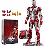 10th Anniversary Deluxe Collector 18 CM Iron Man MK5 Action Figure