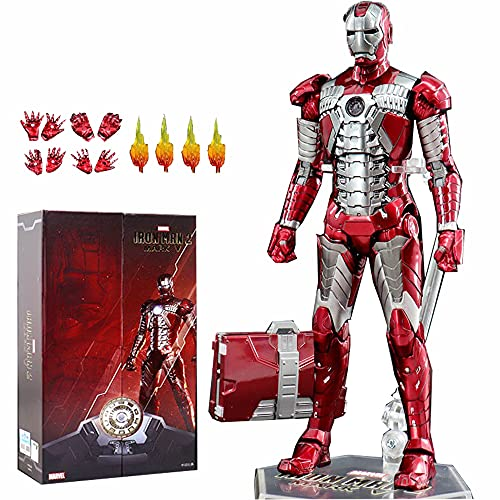 ZT 10th Anniversary 7 Inches Deluxe Collector Iron Man MK5 Action Figures