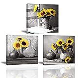 PIY Painting Sonnenblume Bilder Leinwandbild Fotoleinwand