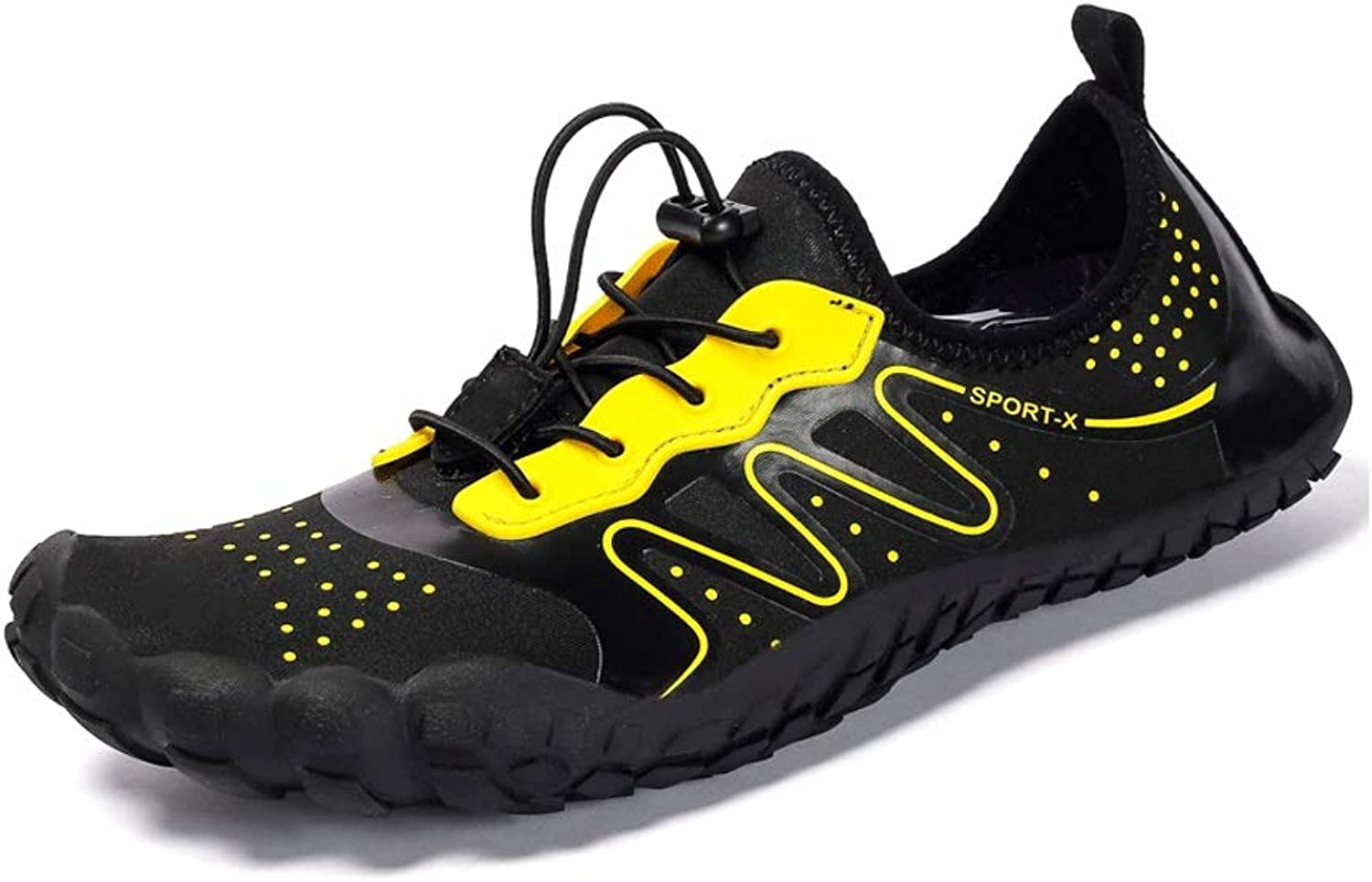 Ailj Water shoes, Men and Women Quick-Drying Diving shoes Large Size Non-Slip Hiking Fishing shoes 3 colors