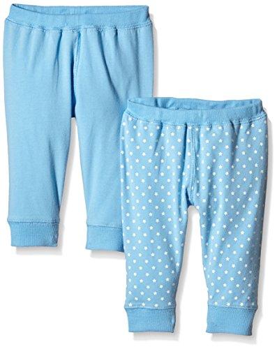 Care, Pantalon Bébé Garçon (lot de 2), Bleu (Alaskan Blue 733), 6 mois (Taille fabricant 68)