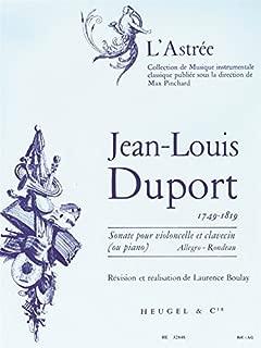 Best duport cello sonata Reviews