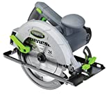 Genesis GCS130 13 Amp 7 1/4' Circular Saw with Metal Lower Guard, Spindle Lock, 24T Carbide Tipped Blade, Rip Guide, and...