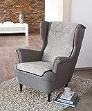 Schurwoll-Sessel- oder Sofaläufer