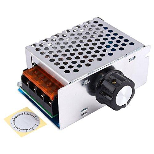 Variabler Spannungsregler 4000W AC 220V SCR Hochleistungsregler elektronischer Spannungsregler
