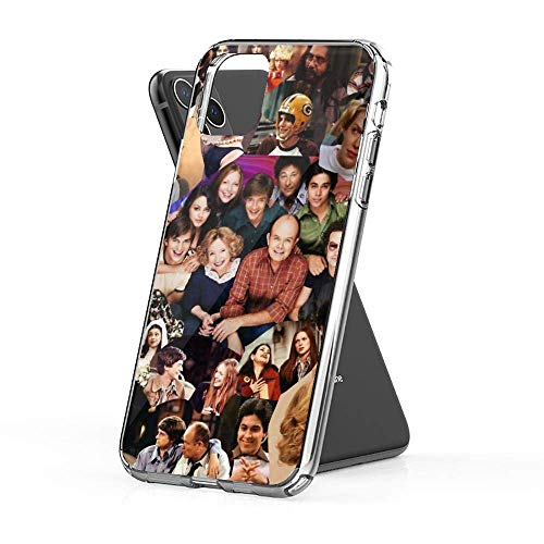 Sexdety Funda Case Compatible con iPhone 6 Plus /6s Plus Case That 70's Show Collage Case