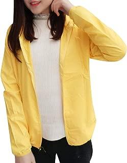 Mogogo Women's UV Protective Long Sleeve Breathable Rain Jacket