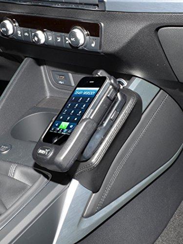 KUDA 2805 Soporte de piel sintética negro para Audi Q2 (tipo GA) a partir de 2016