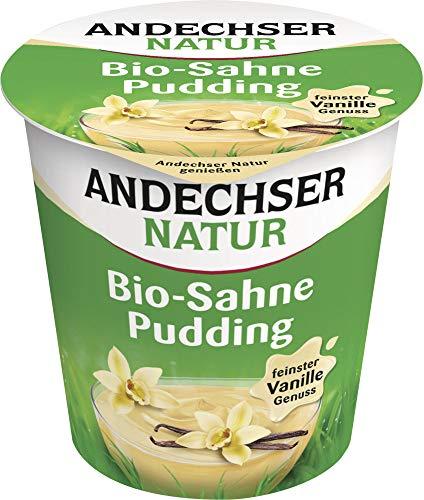 Andechser Natur Bio Bio Sahne-Pudding Vanille 10% (6 x 150 gr)