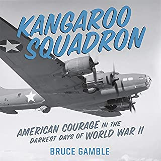 Kangaroo Squadron audiobook cover art