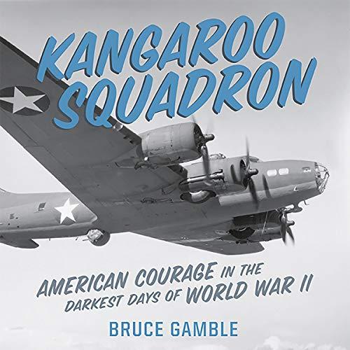 Kangaroo Squadron audiobook cover art