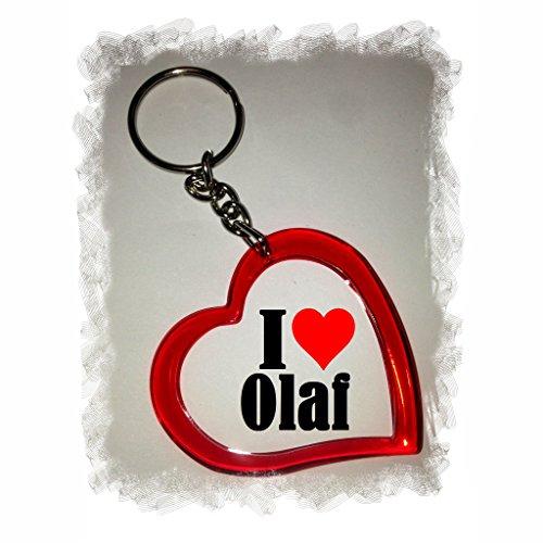 EXCLUSIVO: Llavero del corazón 'I Love Olaf' , una gran...
