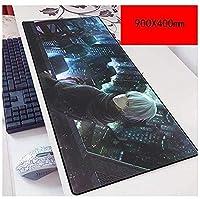 マウスパッド東京喰種900X400mmマウスパッド、拡張XXL大型プロフェッショナルゲーミングマウスマット、厚さ3mm、ノートブック、PC B