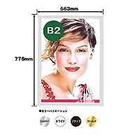 PGライト LEDスリム 角型タイプ B2 ホワイト No.69193(取寄商品)