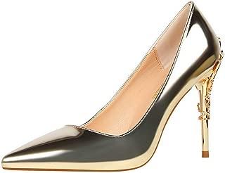 BalaMasa Womens APL12216 Pu Heeled Sandals