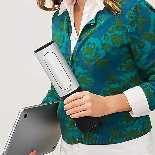 Logitech CONFERENCECAM CONNECT Videokonferenz-Webcam mit Freisprecheinrichtung, HD 1080p, 90° Blickfeld, 4-fach Zoom, Autofokus, USB-Anschluss & Bluetooth, Für 1-6 Personen, PC/Mac/ChromeOS - Schwarz