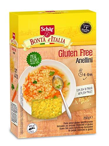 Schär Anellini - Suppennudeln glutenfrei 250g, 10er Pack