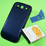 7300mAh Extended Life Battery Thicker Back Cover Bracket for Samsung Galaxy S3 III I9300 SCH-R530C Smartphone