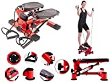 Mini Stepper Maschine Beine Arme Oberschenkel Toner Toning Maschine Workout Training Fitness Treppe...