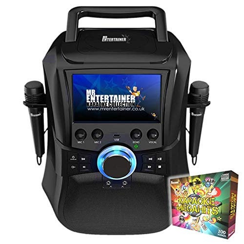 Mr Entertainer Megabox Portable Karaoke Machine with Screen....